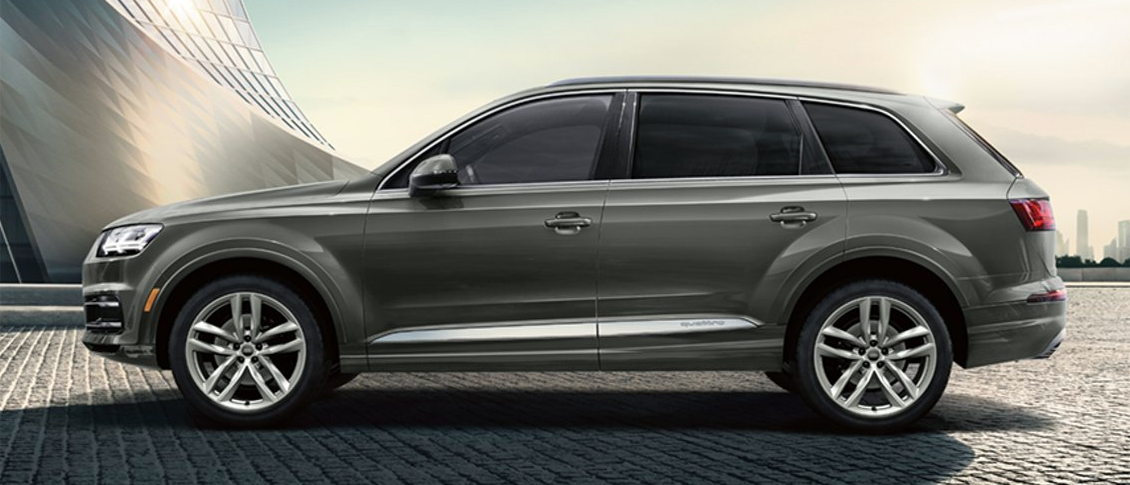 2019 Audi Q7 Side Profile