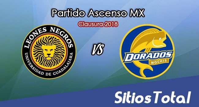 Leones Negros vs Dorados de Sinaloa en Vivo – Ascenso MX – Domingo 28 de Enero del 2018