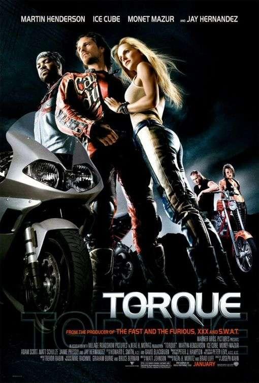 Poster Torque 2004 Full HD Movie Download Dual Audio Hindi 720p