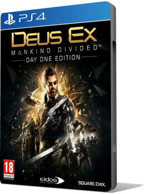 [PS4] Deus Ex: Mankind Divided (2016) - FULL ITA