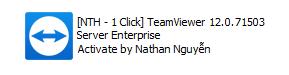 [NTH - 1 Click] HOT - TeamViewer 12.0.71503 Server Enterprise [Silent Install]