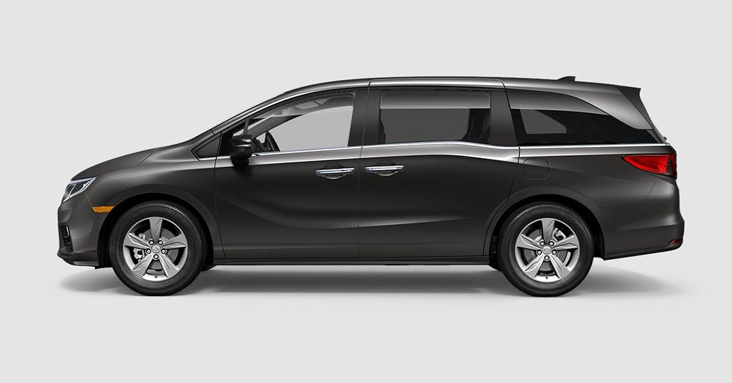 2018 Honda Odyssey EX in Pacific Pewter