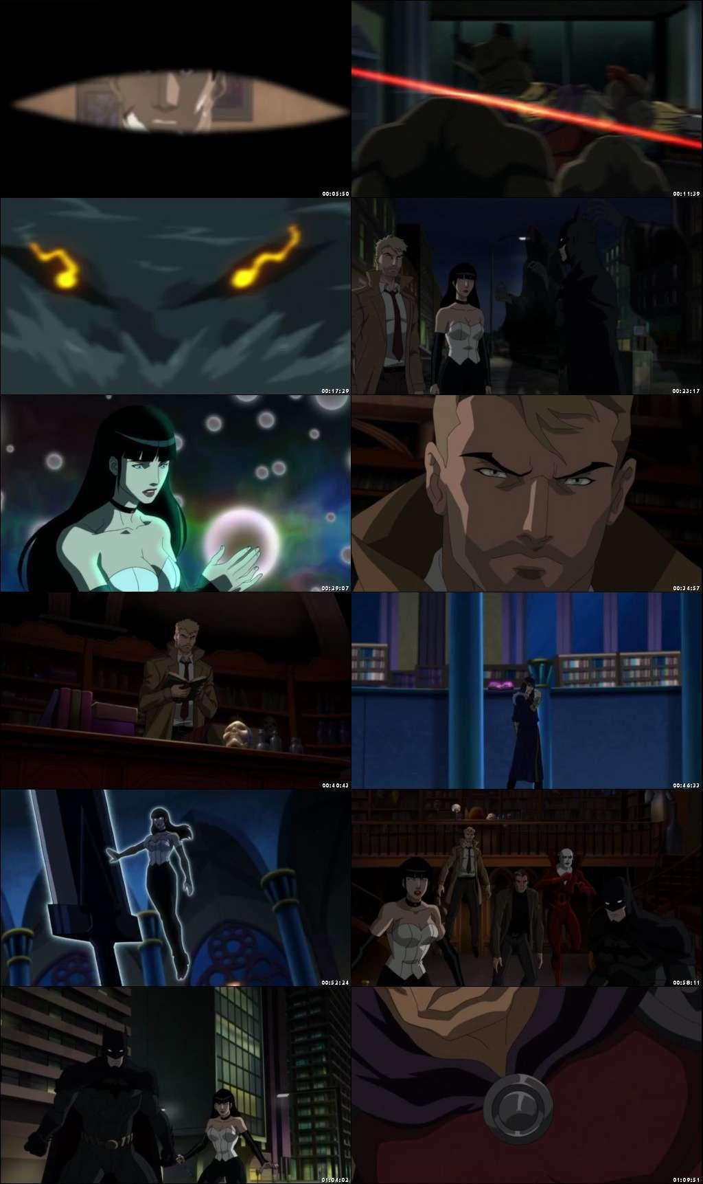 Screen Shots Justice League Dark 2017 Full Movie HD 480p English 300MB