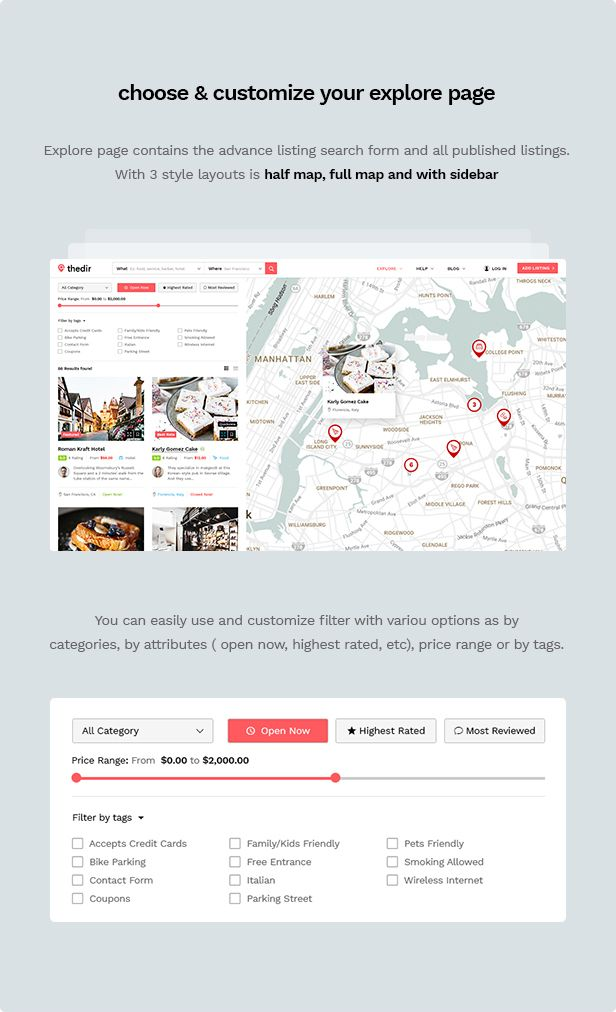 Thedir | Unlimited Listing & Directory PSD Template - 6
