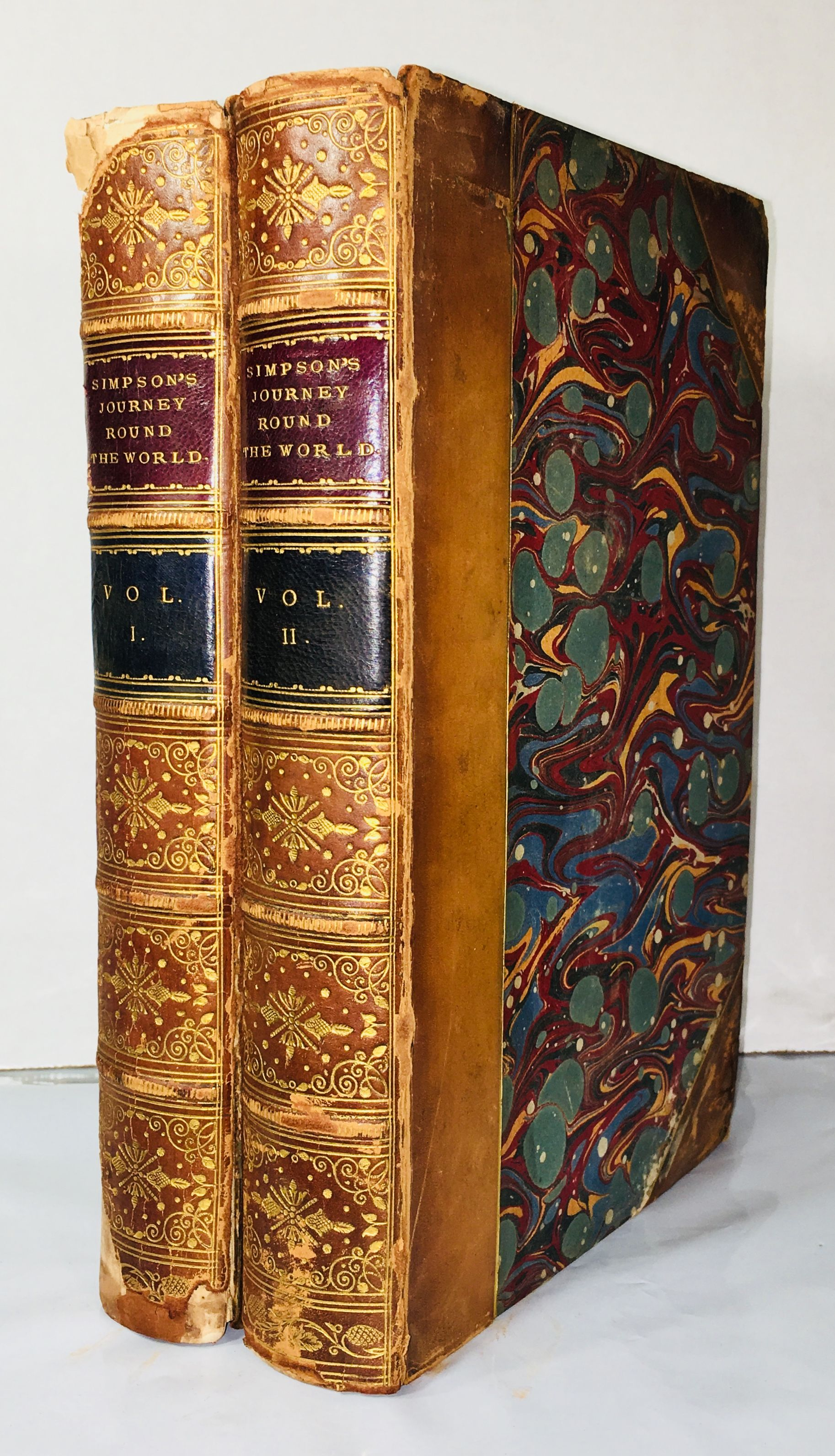 Narrative of a Journey Round the World During the Years 1841 and 1842, Simpson, Sir George