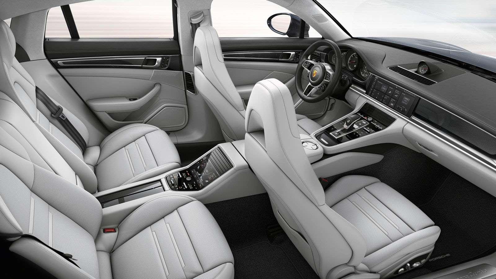 Porsche Panamera Interior Features