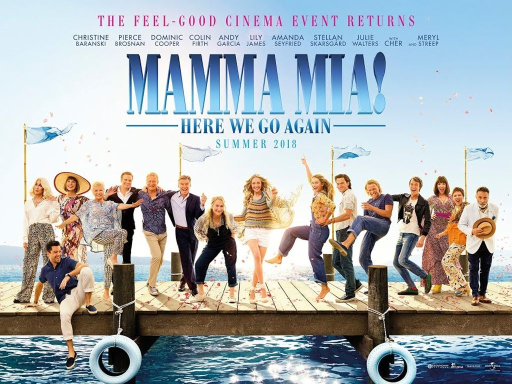 Mamma Mia! Here We Go Again Quad Poster Πόστερ