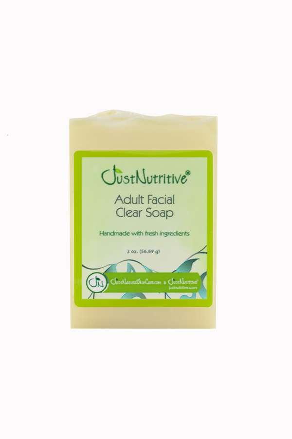 Just Nutritive Adult Facial Clear Soap 2 oz.