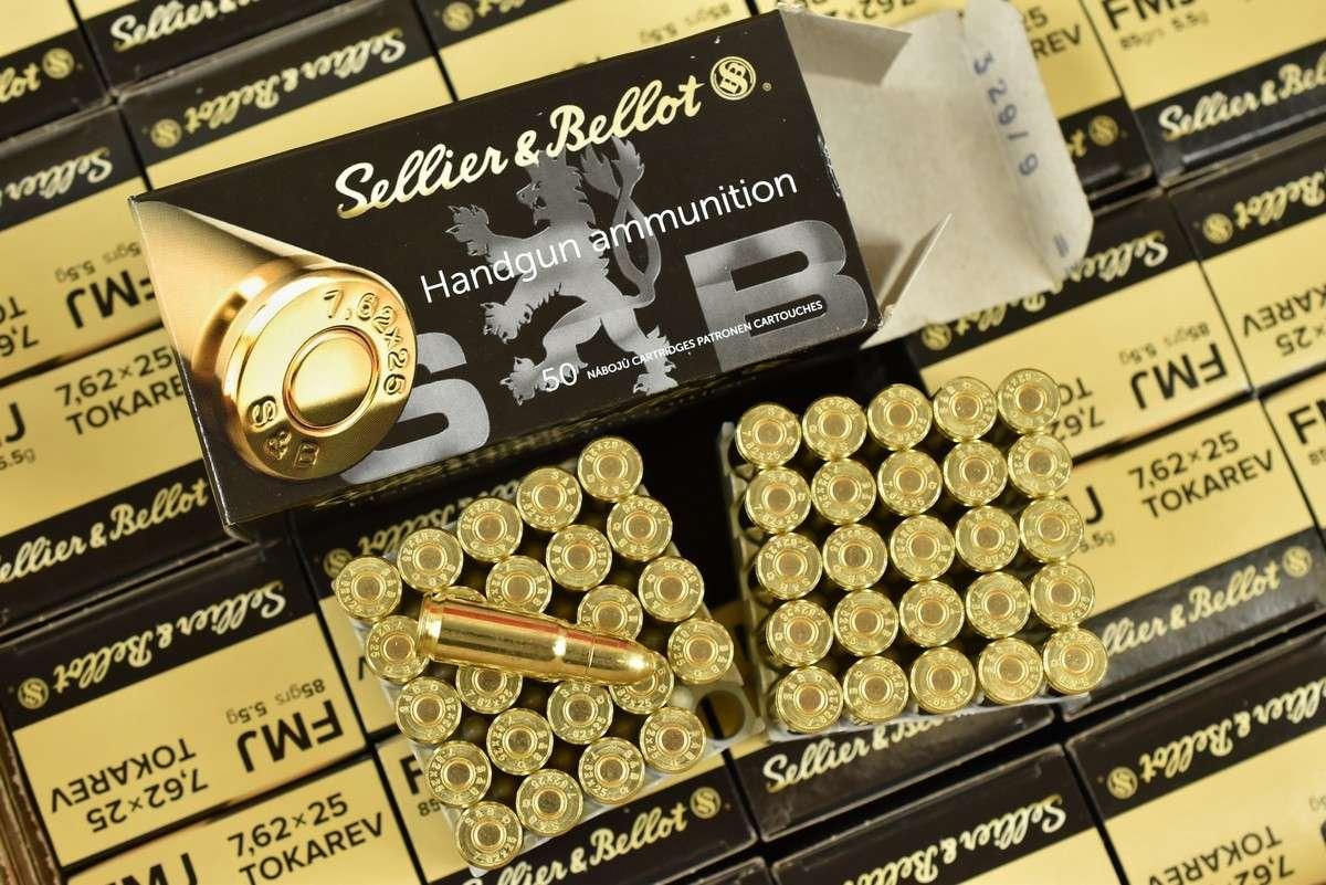 amunicja 7,62X25
