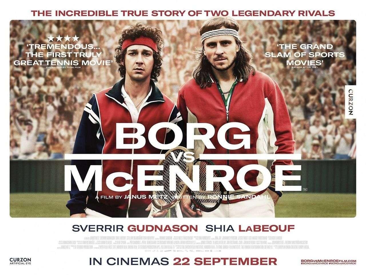 Borg vs McEnroe Όλα για τη Δόξα (Borg vs McEnroe) Quad Poster Πόστερ