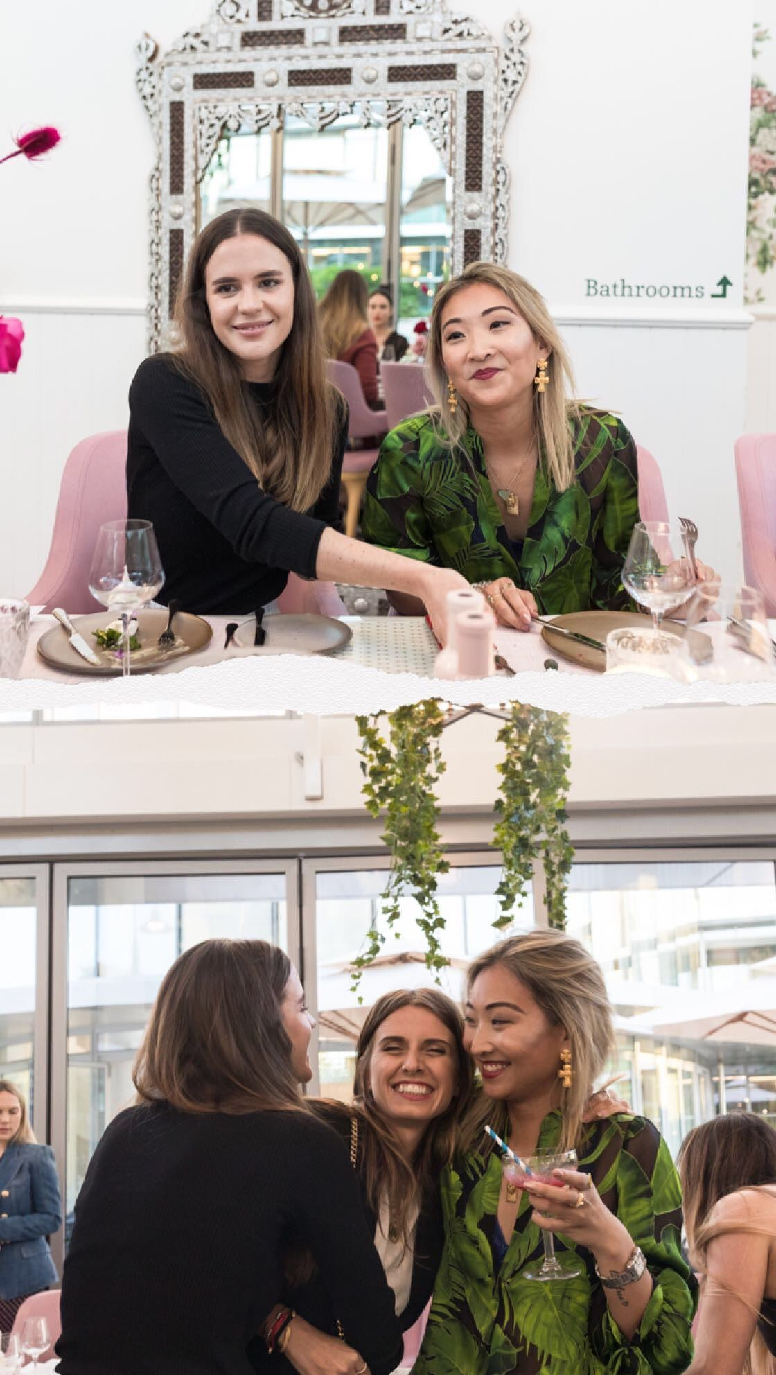 Shopbop x Botanica Dinner, Ally May Carey, Andi Csinger, Helen Chik