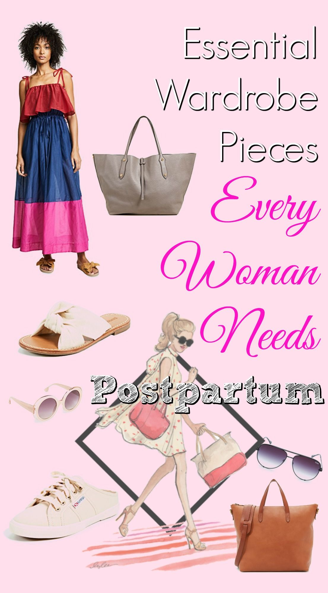 Essential Wardrobe Pieces Every Woman Needs Postpartum