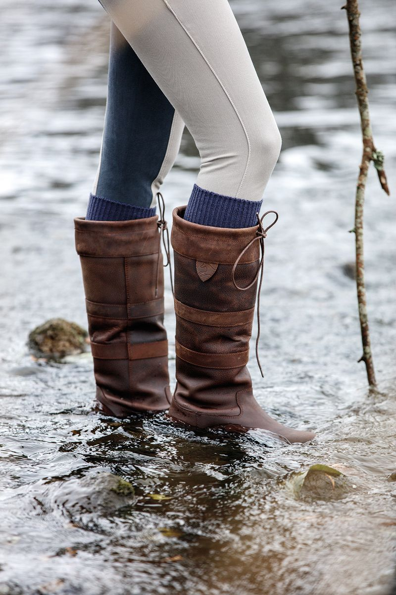 Horseware Ireland Tall Waterproof Country Stiefel with with Stiefel Strong Rubber Sole 34fb9b