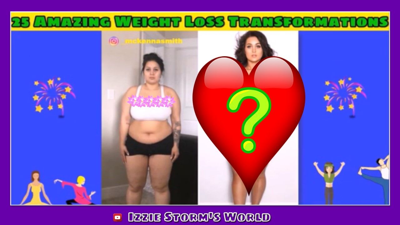 25 Amazing Instagram Fitness & Weight Loss Transformations Compilation