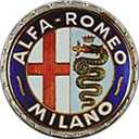 1950 Alfa Romeo Badge Logo