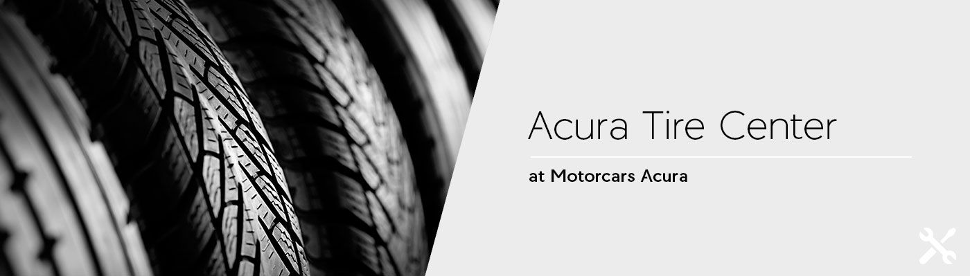 Tire Center at Motorcars Acura in Bedford, Ohio