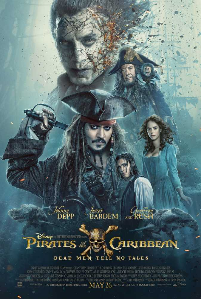 Poster Pirates of the Caribbean: Salazar's Revenge (2017) Full Movie Download Hindi Dubbed