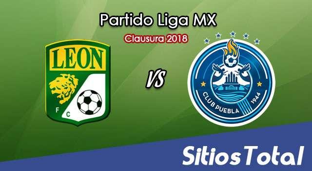 León vs Puebla en Vivo – Liga MX – Sábado 10 de Febrero del 2018