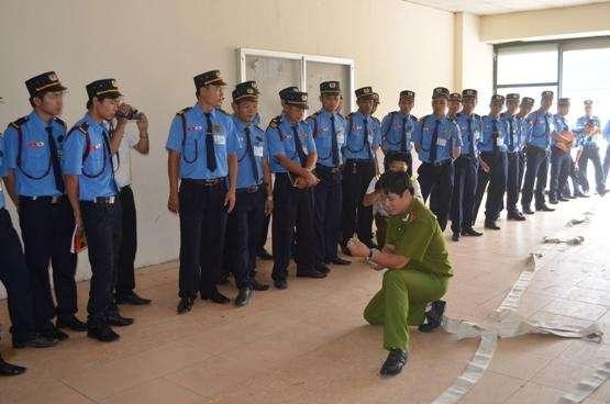 Trách nhiệm PCCC đối với lực lượng bảo vệ