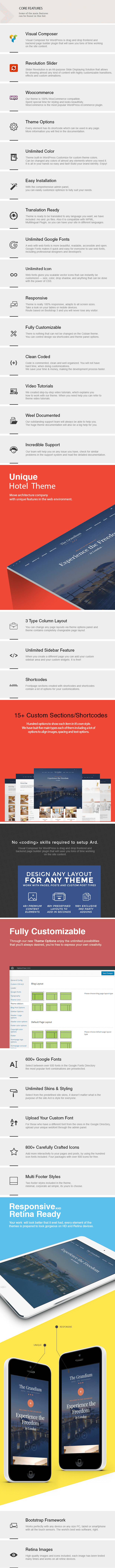 Grandium - Responsive WordPress Hotel Theme - 3