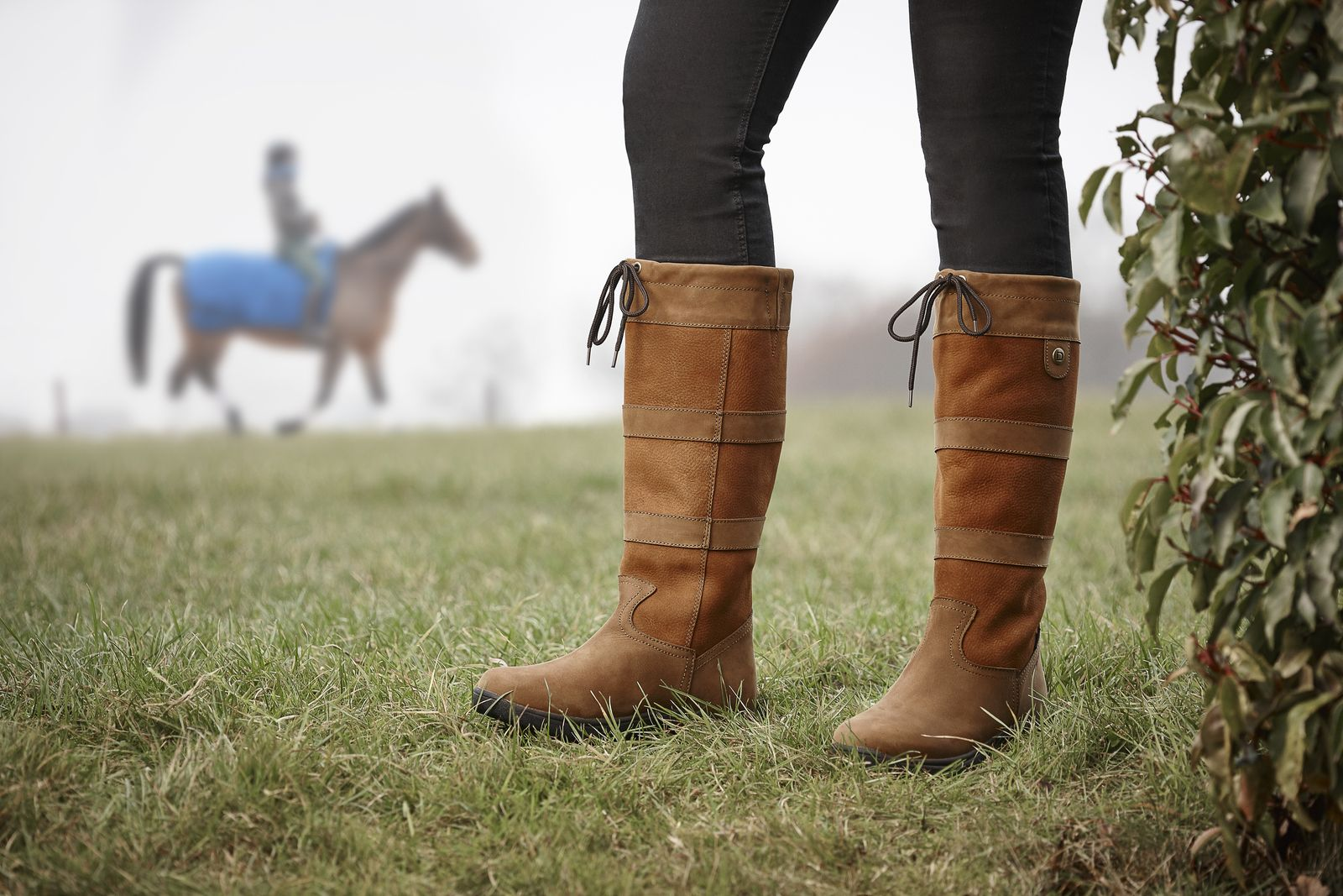 220242cadf1 Dublin Ladies  River Tall Boots Waterproof Leather Rider Comfort ...