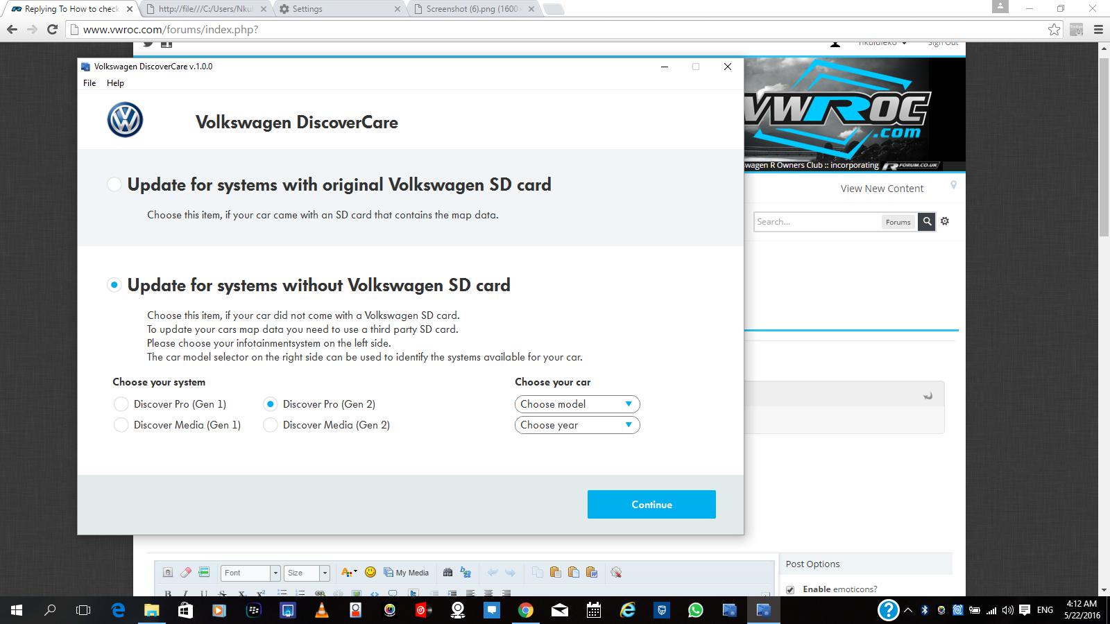 Sat nav update help needed please  - VW Golf R MK7 Chat - VWROC - VW