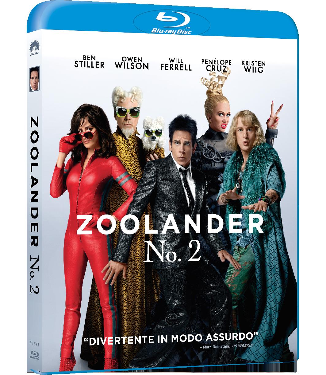zoollander 2 bd