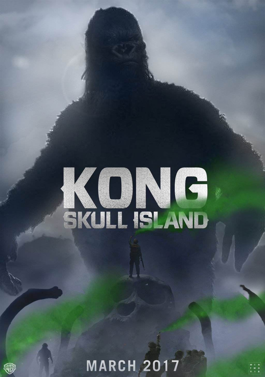 Poster Kong Skull Island (2017) Full Movie Download Hindi Dubbed HDTS
