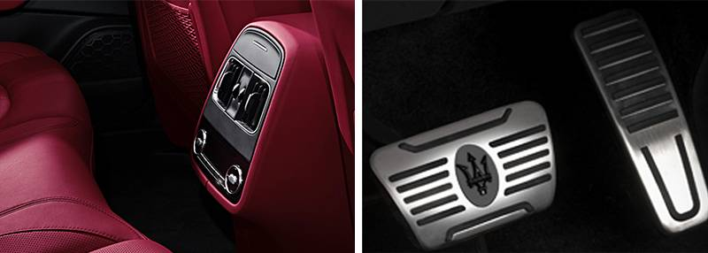 Levante Four Zone Climate Control Inox Foot Pedals