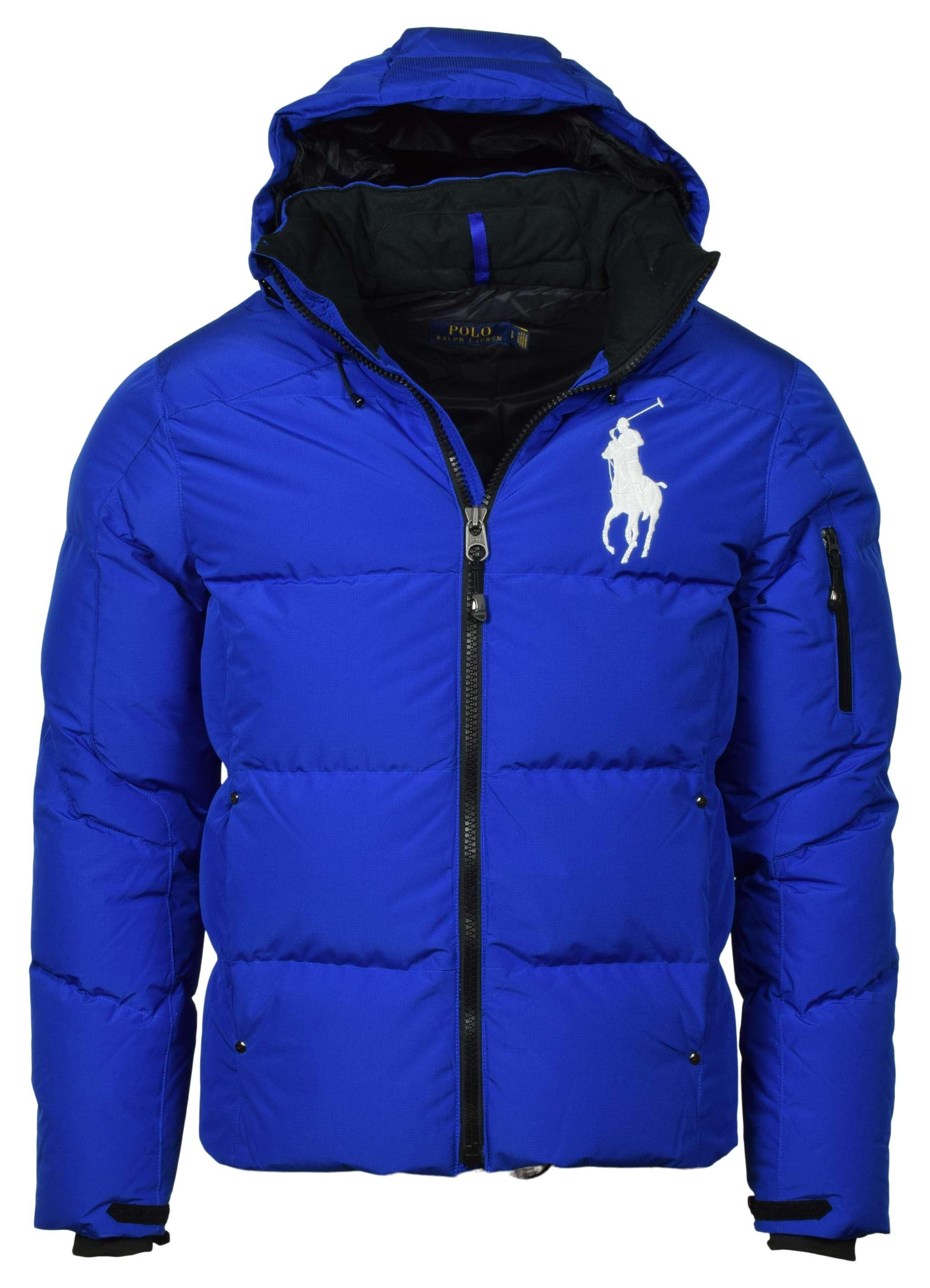 Polo Ralph Lauren Men's Big Pony Hooded Down Puffer Jacket ...