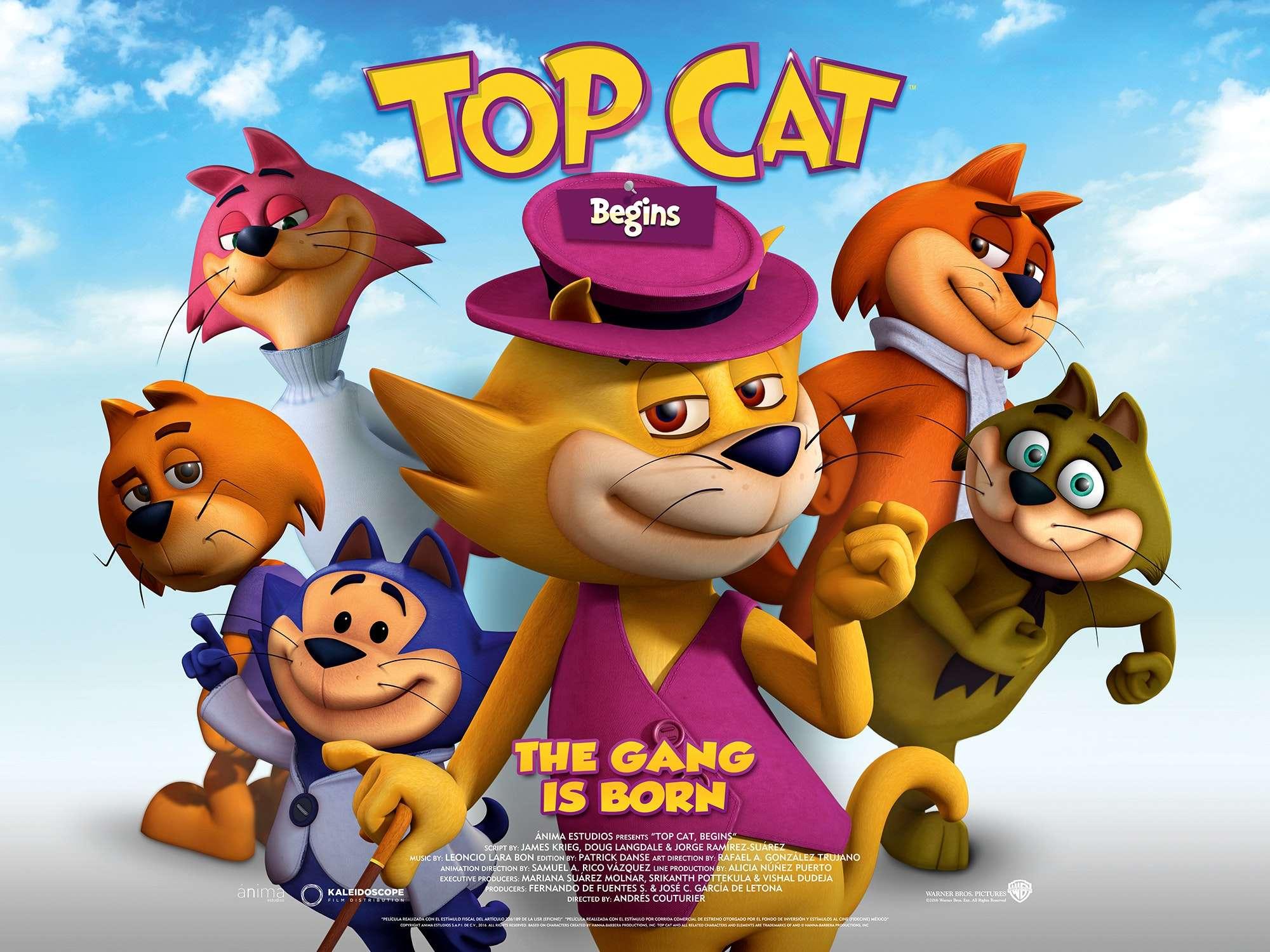 Γατο...Συμμορία Η Αρχή (Topcat Begins) Movie