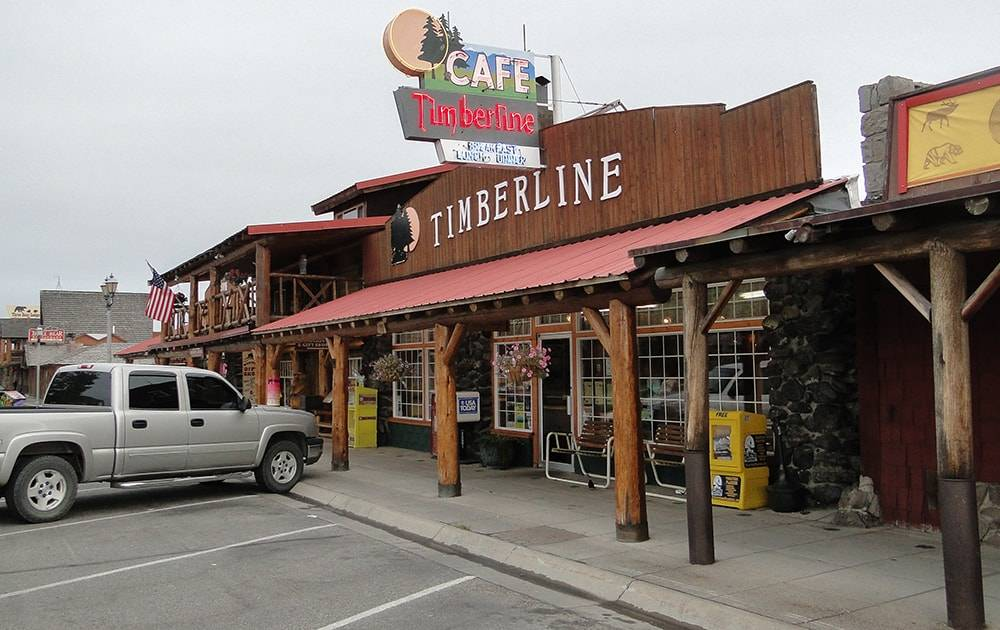 donde dormir en Yellowstone