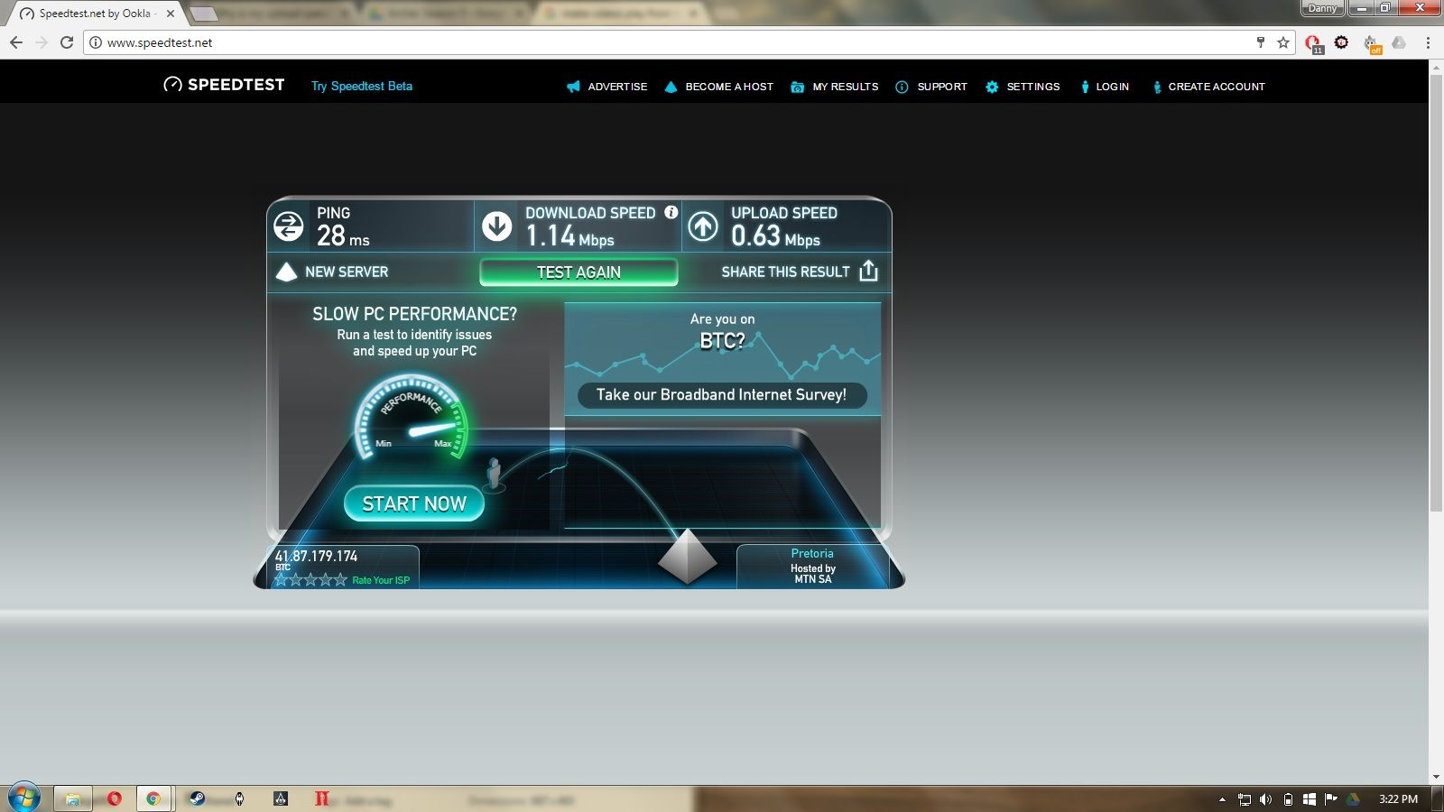 Why is my upload speed much faster than my download speed