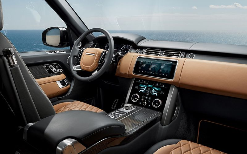 2020 Range Rover PHEV Interior