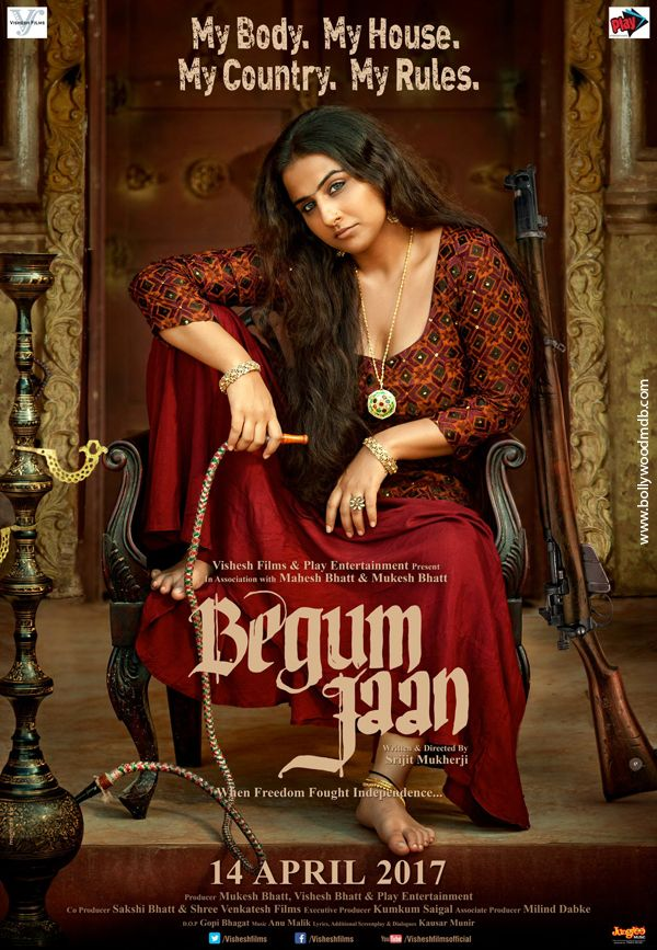 Poster Begum Jaan (2017) Full Movie Download DVDRip