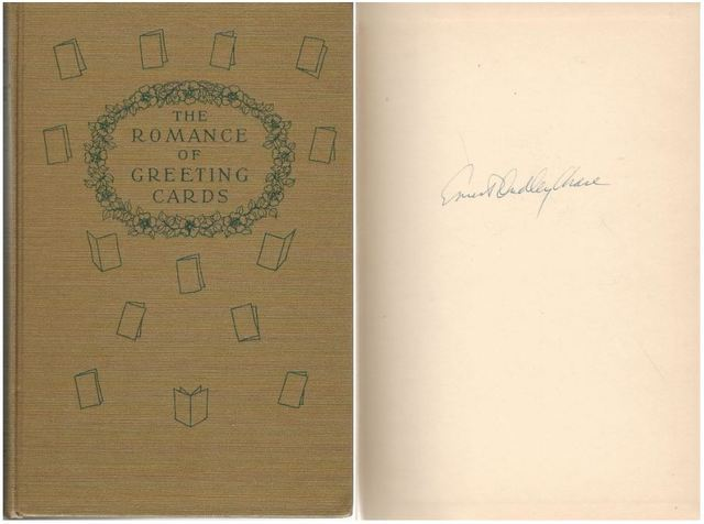 Romance of Greeting Cards Kate Greenaway Designs Signed, Chase, Ernest Dudley