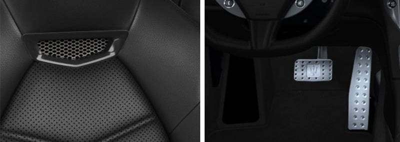 GranTurismo Leather Seats Aluminum Pedals