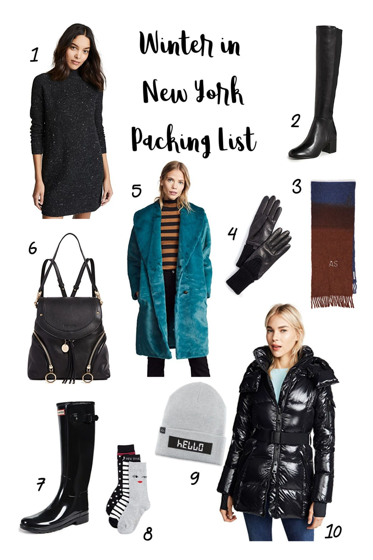Winter Wardrobe Essentials for NYC
