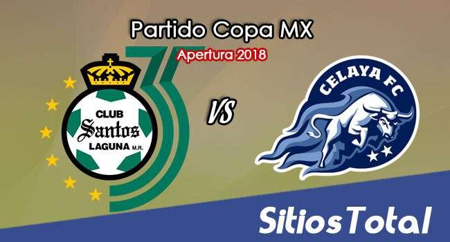 Santos vs Celaya en Vivo – Copa MX – Martes 7 de Agosto del 2018