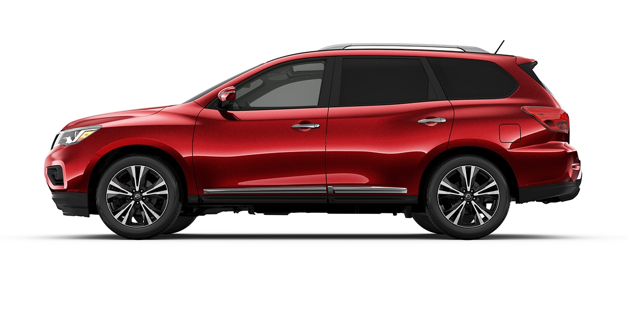 2018 Nissan Pathfinder Scarlet Ember