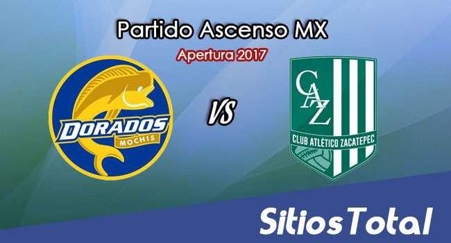 Ver Dorados de Sinaloa vs Atlético Zacatepec en Vivo – Online, Por TV, Radio en Linea, MxM – Apertura 2017 Ascenso MX