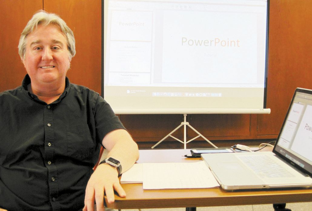 Power Point Program Given at Genealogy Society Meeting
