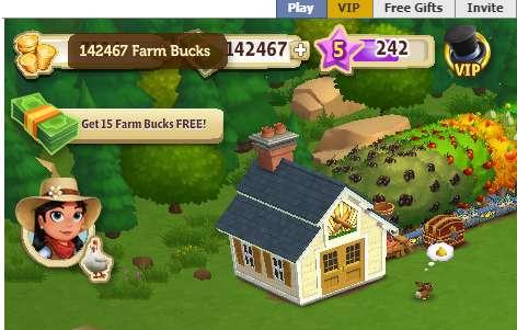 VIP and REAL FARMBUCKS