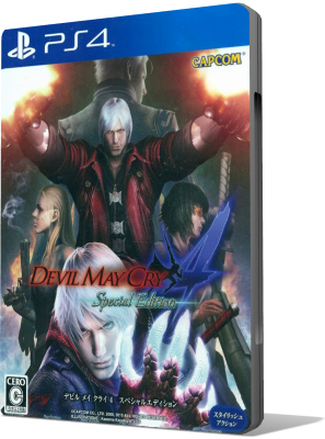 [PS4] Devil May Cry 4 Special Edition (2015) - SUB ITA