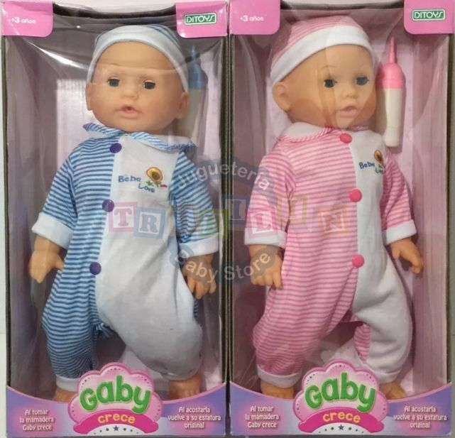 muñeca gaby crece