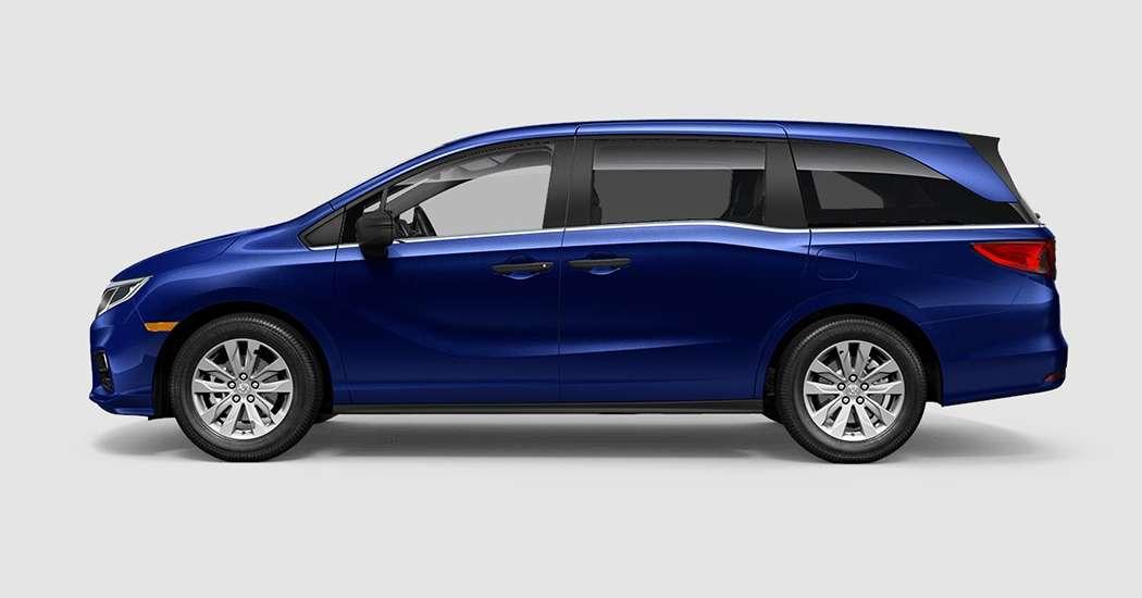 2018 Honda Odyssey LX in Obsidian Blue