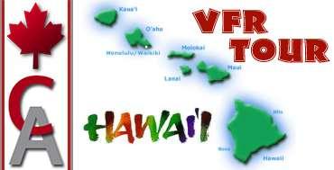 Hawaii VFR Tour