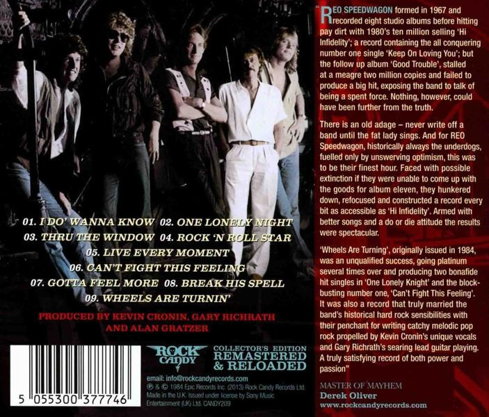 Reo Speedwagon (USA) - Metal Jukebox