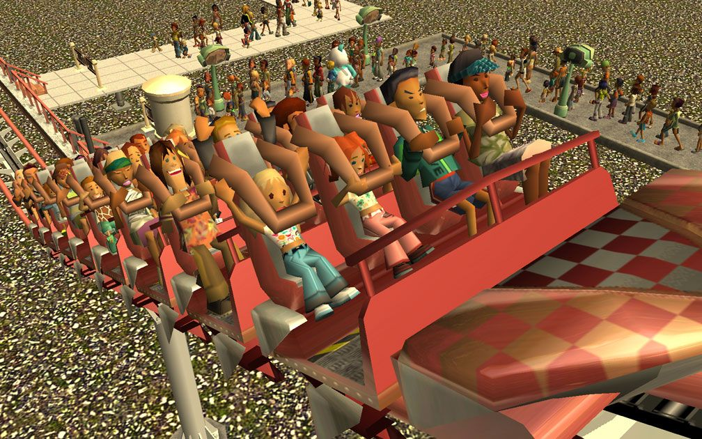 My Downloads - Parks and Coasters - Coaster: Peppermint Twist - Primary Demo Screenshot, Image 01