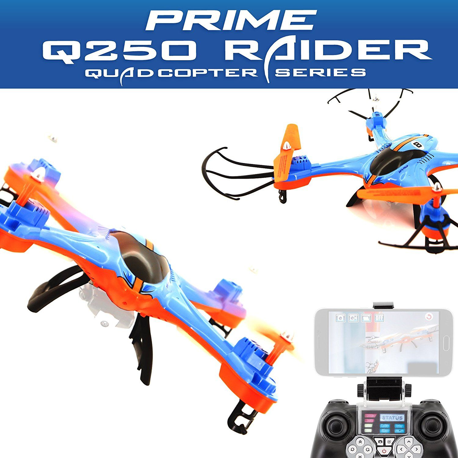 ACME Quadrocopter zoopa Prime Q250 Raider mit Wifi Live Videotransmiss<wbr/>ion